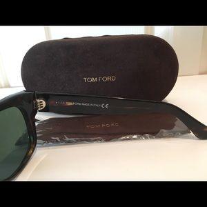 "d5d572ad339 Tom Ford Accessories - Tom Ford Unisex ""Cary"" wayfarer Sun   TF58 Demos!"